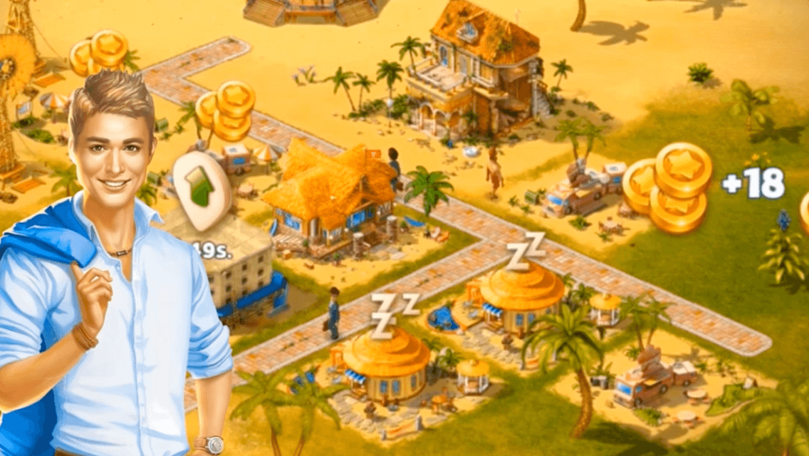 Paradise island prizes for games